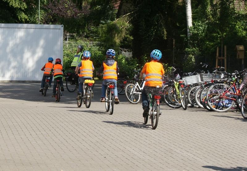 Die praktische Fahrradprüfung